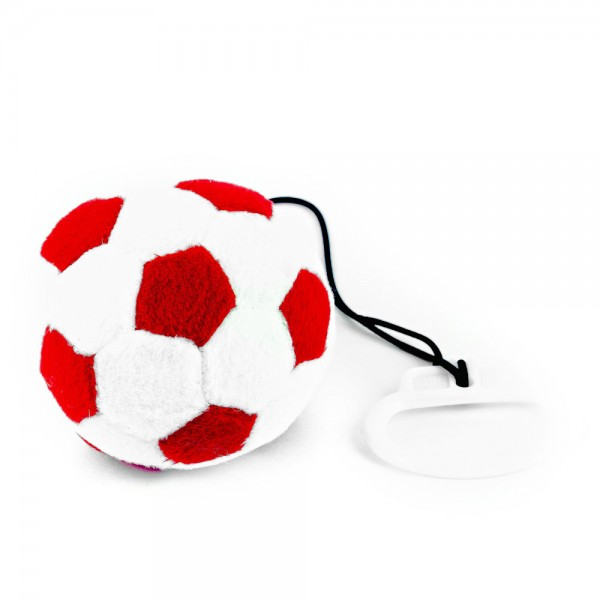 Plüschball Fangesang rot weiß by 12teFRAU