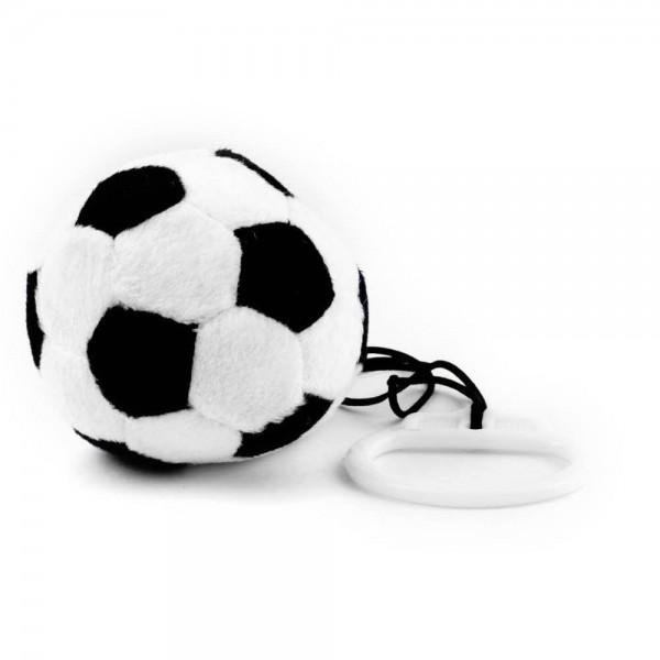 Plüschball Fangesang schwarz weiß by 12teFRAU