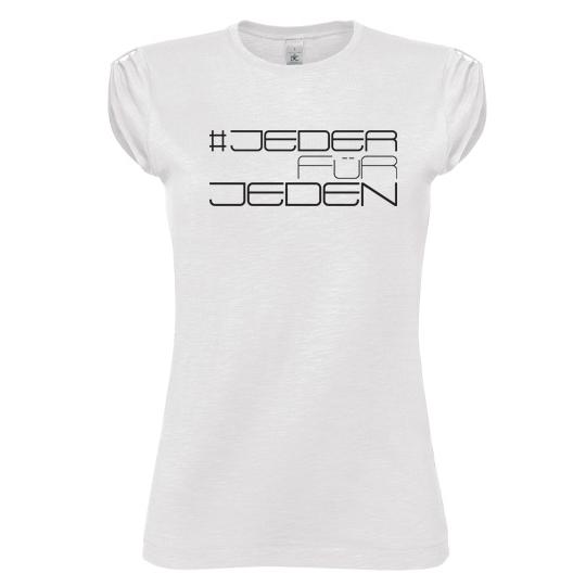 EM-Damen-Shirt #JederFürJeden Design 2