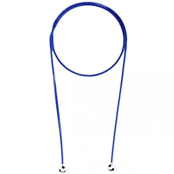 Halskette Viererkette blau by 12teFRAU