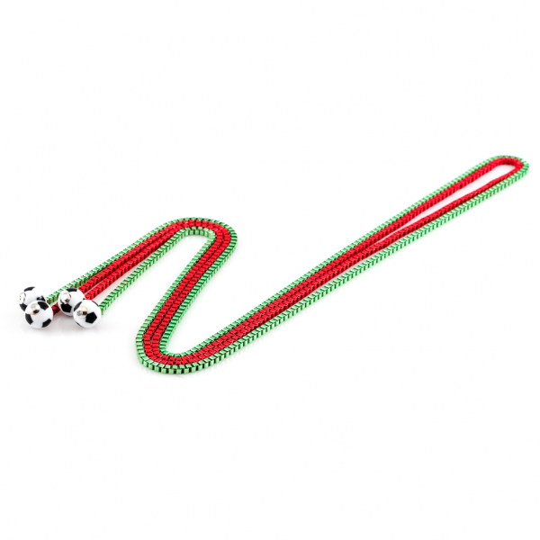 Halsketten Viererkette rot grün by 12teFRAU