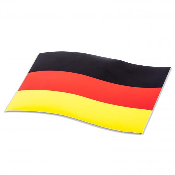 Magnetflagge Deutschland 12te Frau 12teFrau Schmuck Fußball EM WM jdrfürjdn jeder für jeden