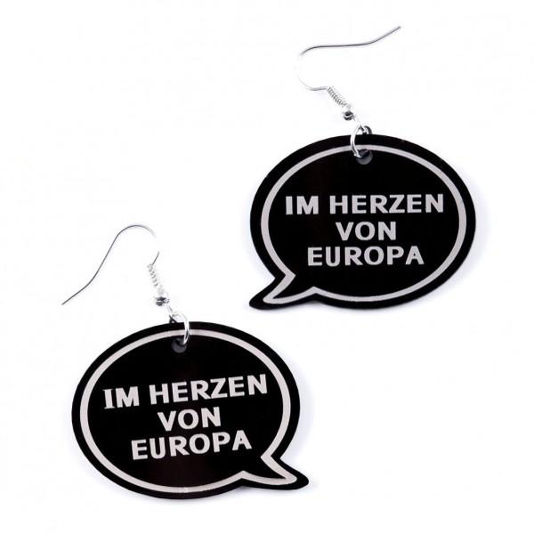 """Ohrring """"Im Herzen von Europa"""""""