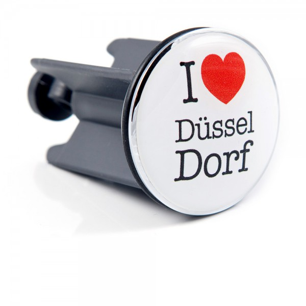 Plopp I love Düsseldorf by 12teFRAU