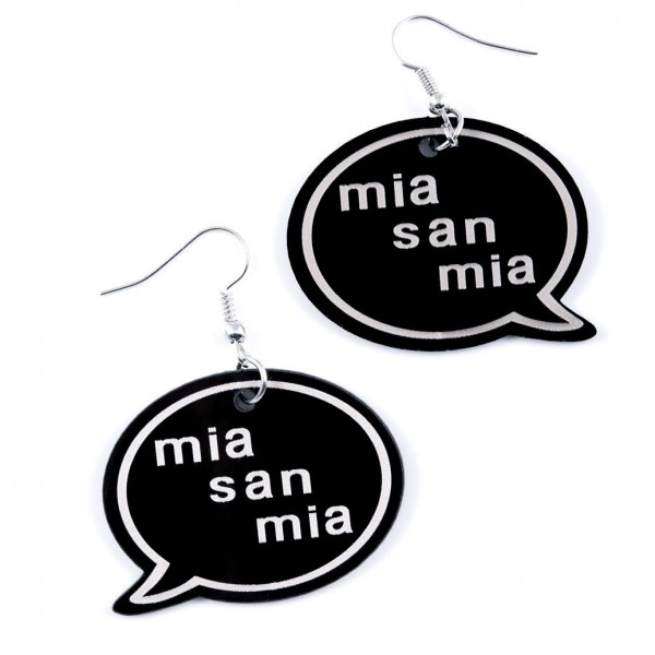 """Ohrring """"mia san mia"""""""