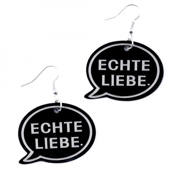 Ohrring Echte Liebe 12te Frau 12teFrau Schmuck Fußball Fanschmuck Fashion