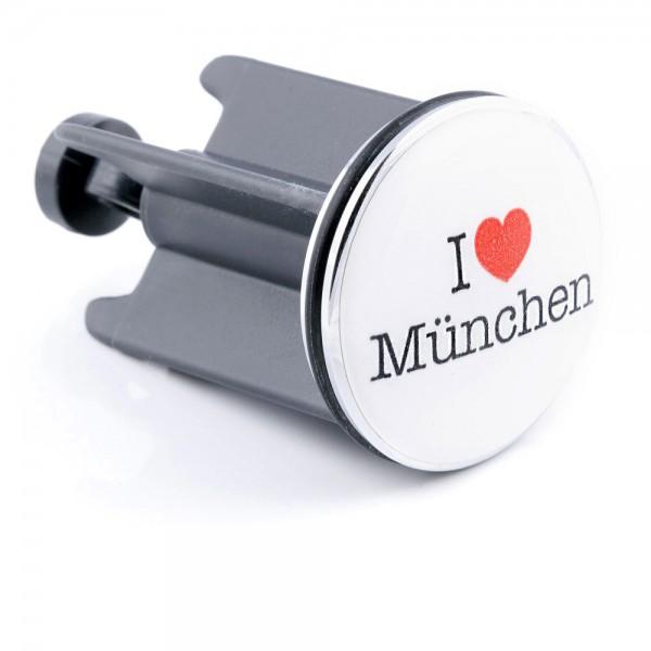 Plopp I love München by 12teFRAU