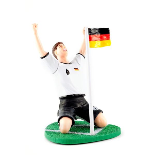 Autowackelfigur Ecke 12te Frau 12teFrau Schmuck Fußball EM WM jdrfürjdn jeder für jeden