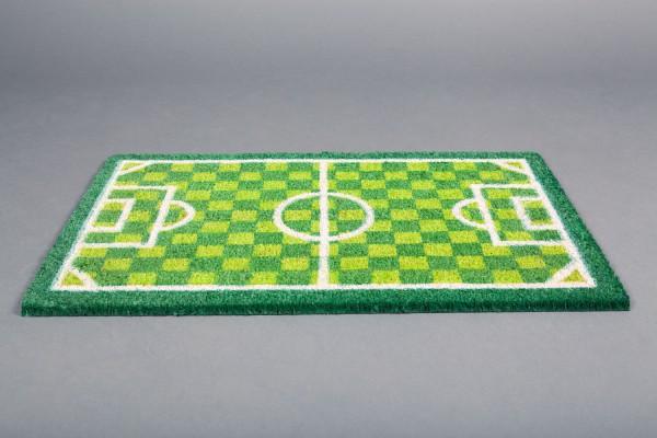 Fußmatte Heiliger Rasen grün weiß by 12teFRAU