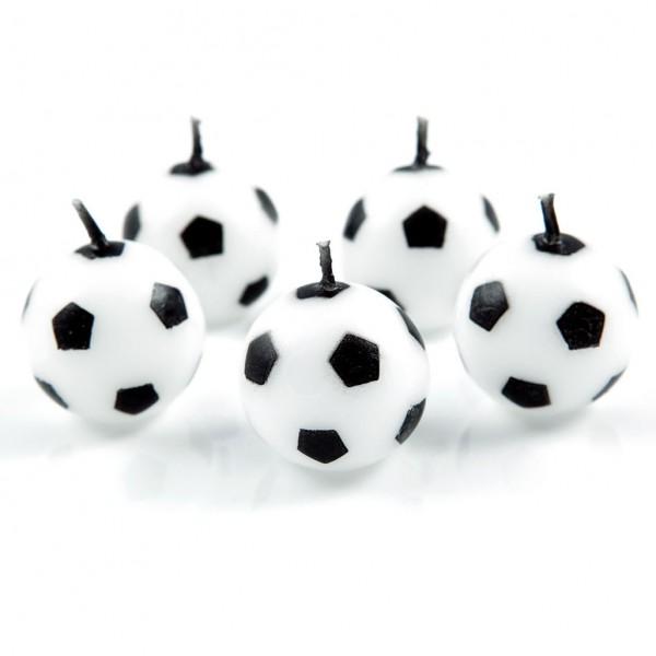 Fußballkerzen by 12teFRAU