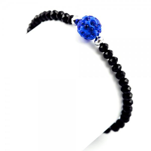 Perlenarmband Torlinie blau by 12teFRAU